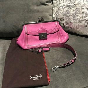 Coach purple purse